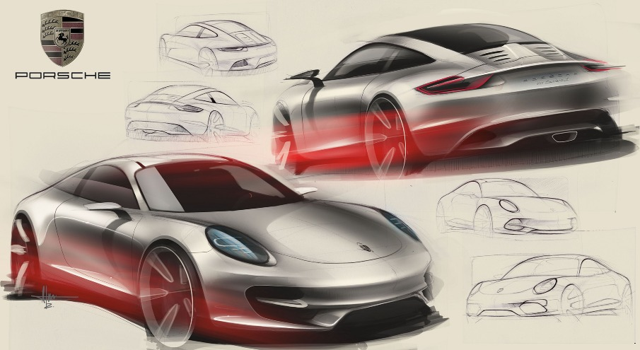 Porsche Ideations Alan Derosier Design